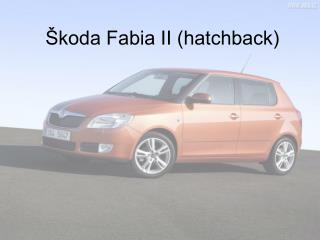 Škoda Fabia II (hatchback)