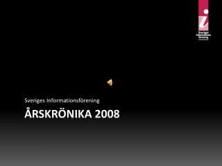 Årskrönika 2008