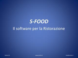 S-FOOD