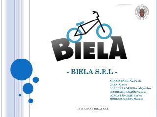 - BIELA S.R.L -