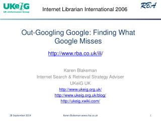 Out-Googling Google: Finding What Google Misses
