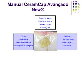 Manual CeramCap Avan ado New