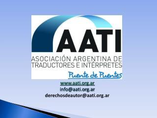 aati.ar   info@aati.ar derechosdeautor@aati.ar