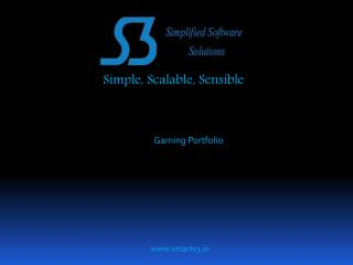 Simple, Scalable, Sensible