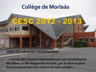 CESC 2012 - 2013