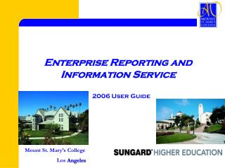 Enterprise Reporting and Information Service