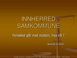 INNHERRED SAMKOMMUNE
