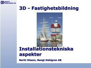 3D - Fastighetsbildning