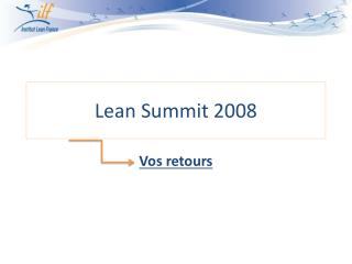 Lean  Summit  2008