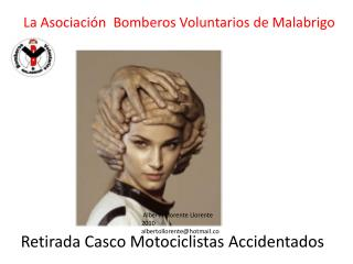 Retirada Casco Motociclistas Accidentados