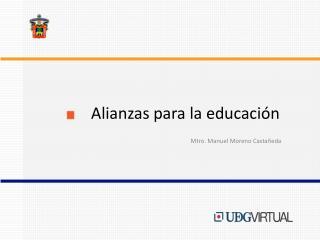 Alianzas para la educación