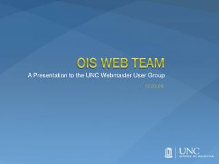 OIS Web Team