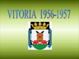 VITORIA  1956-1957