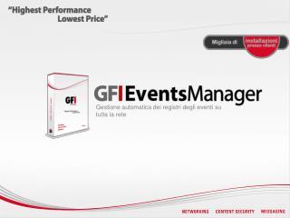 Gestione automatica dei registri degli eventi su tutta la rete