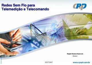 Redes Sem Fio para  Telemedi��o e Telecomando