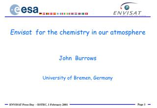 John  Burrows University of Bremen, Germany