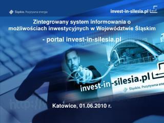Model promocji atrakcyjności inwestycyjnej gmin w portalu invest-in-silesia.pl