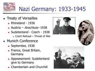 Nazi Germany: 1933-1945