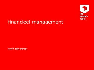 financieel management stef heutink
