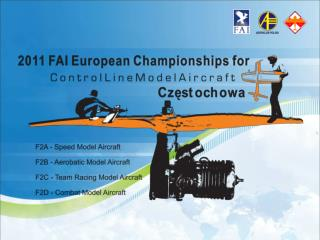 The  FAI European Championships for Control Line Model Aircraft
