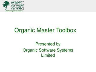 Organic Master Toolbox
