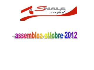 assemblea ottobre 2012