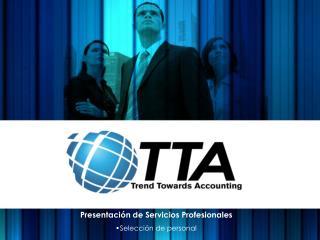 Presentación de Servicios Profesionales Selección de personal