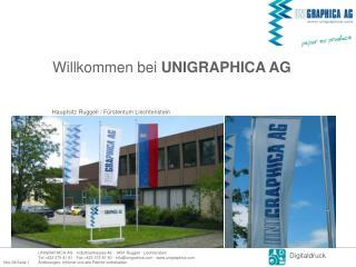 Willkommen bei  UNIGRAPHICA AG