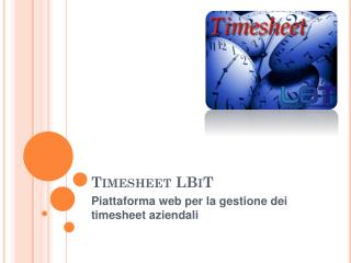 Timesheet LBiT