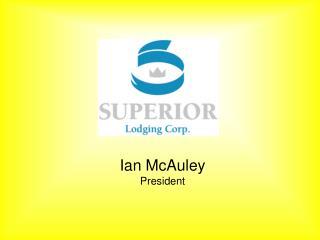 Ian McAuley President
