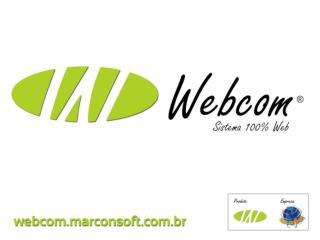 O que é o WEBCOM?