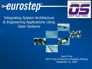 Integrating System Architecture & Engineering Applications Using Open Systems