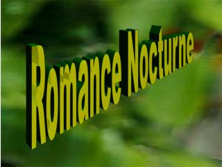 Romance Nocturne
