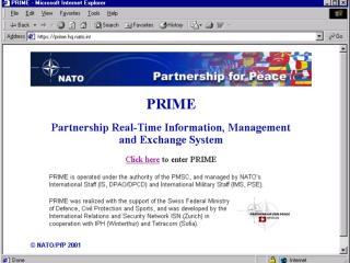 PRIME Presentation 11 Nov 02