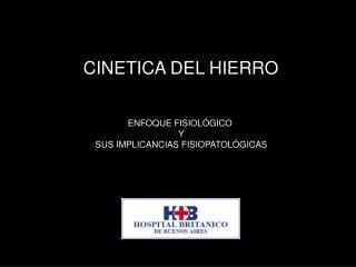 CINETICA DEL HIERRO
