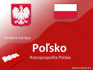 Stredná Európa: Poľsko