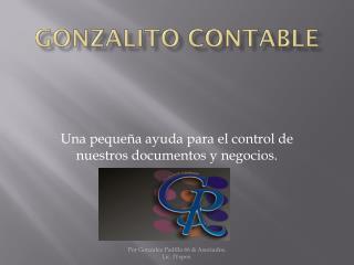 gonzalito Contable