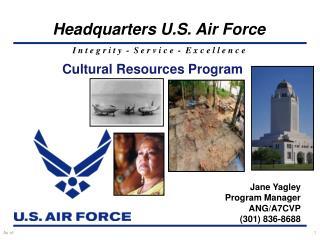 Cultural Resources Program