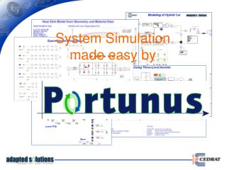 System Simulation  made easy by