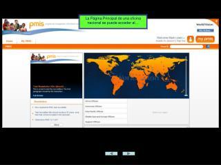 La Página Principal de una oficina nacional se puede acceder al…