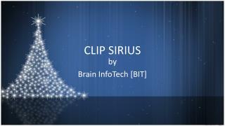 CLIP SIRIUS