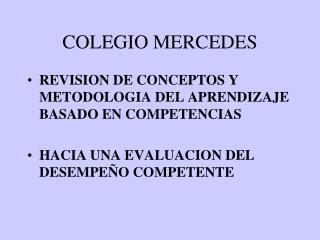 COLEGIO MERCEDES