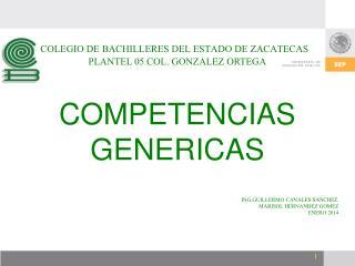 COLEGIO DE BACHILLERES DEL ESTADO DE ZACATECAS