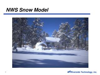 NWS Snow Model