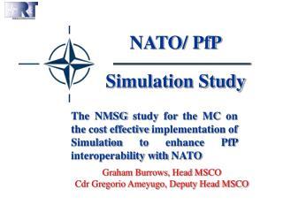 NATO/ PfP Simulation Study