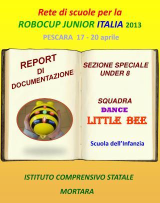 Rete di scuole per la  ROBOCUP JUNIOR  ITALIA 2013 PESCARA  17 - 20 aprile