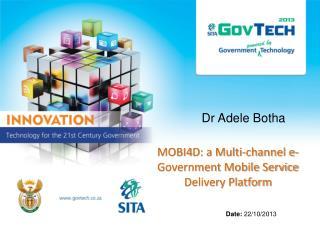 Dr  Adele Botha