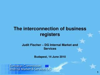 The interconnection of business registers