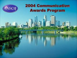 2004 Communication Awards Program