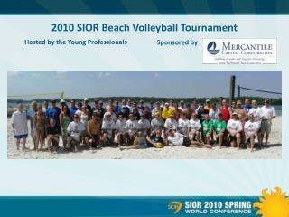 2010 SIOR Beach Volleyball Tournament